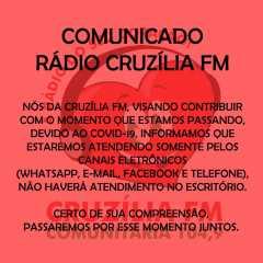 COMUNICADO RÁDIO CRUZÍLIA FM