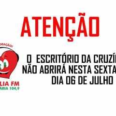 Funcionamento da Cruzília FM Sexta-feira