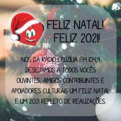 Feliz Natal! Feliz 2021!